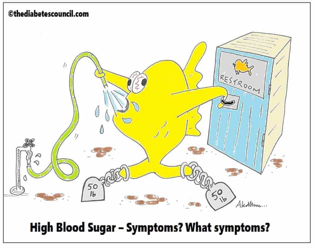 What A High Blood Sugar Feels Like