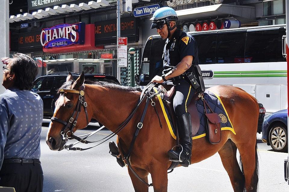 police officer managing diabetes