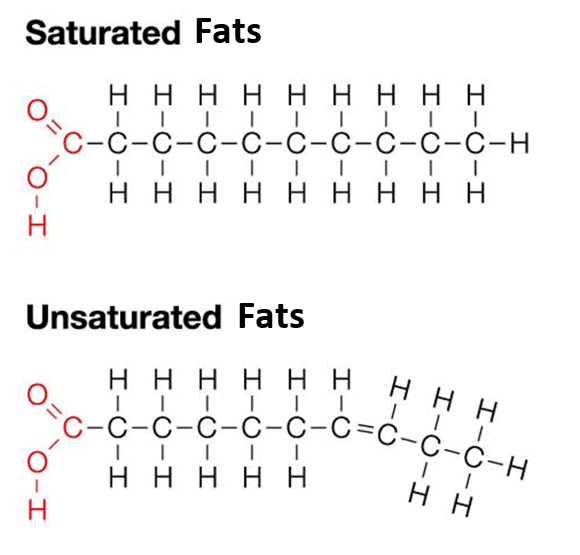 staurated-unsaturated