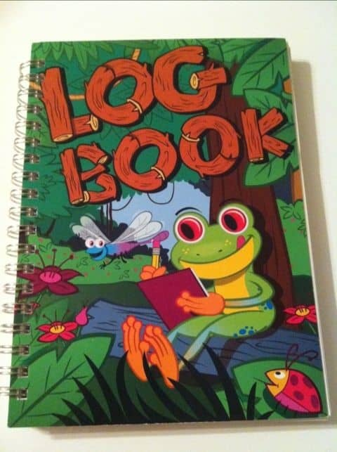 Eli Lilly frog log book