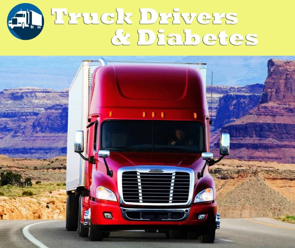 truck driving and diabetes