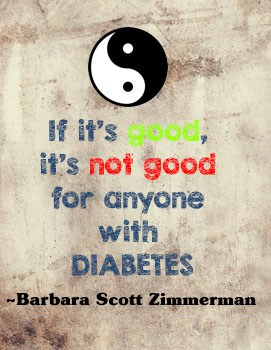 Barbara Scott Zimmerman diabetes quote