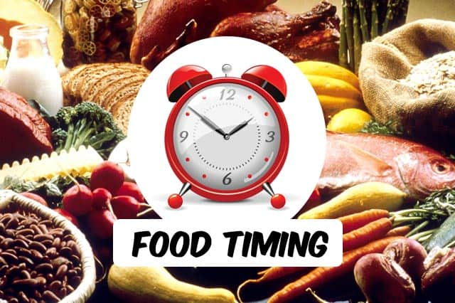 Does Timing of Food Matter with Diabetes