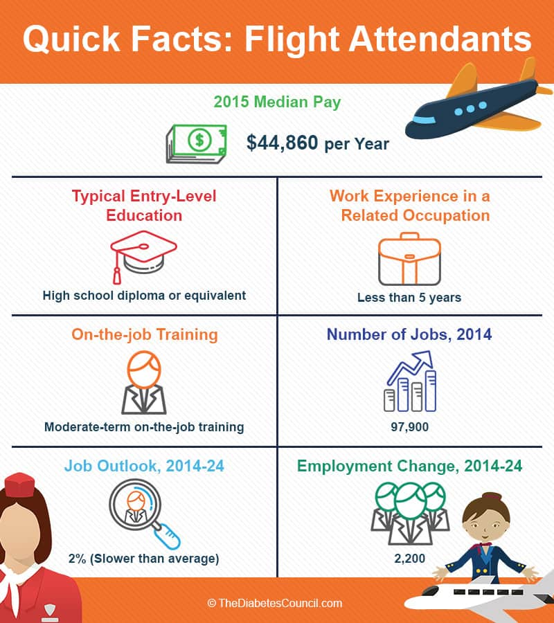 quick facts about flight attendants