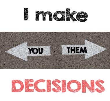make decisions for treatment