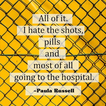 paula russell diabetes quote