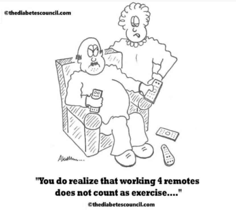 tv-diabetes-remote control doesnt help