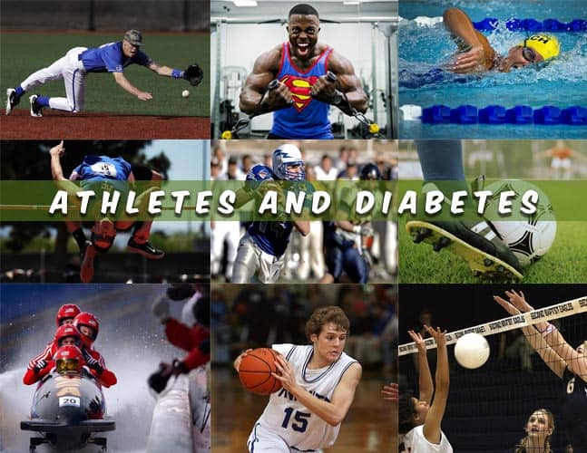 Athletes and Diabetes managing diabetes as an athlete