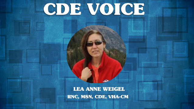 cde interview with lea anne weigel
