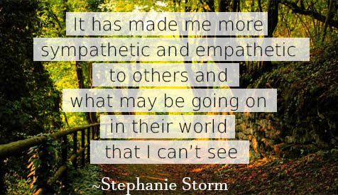 quote by stephanie storm
