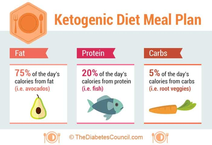 why is the standard ketogenic diet 5 carbohydrates