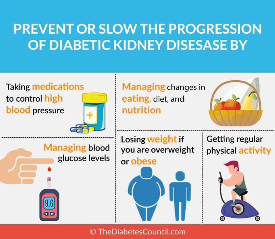 Diabetes mellitus and renal failure: Prevention and management