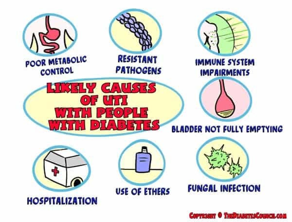 Likely Causes of Urinary Tract Infections in People with ...