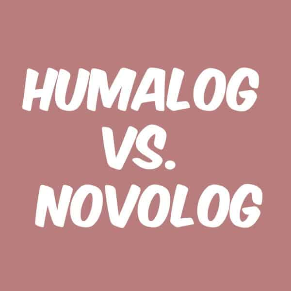 Humalog Vs Novolog What S The Difference