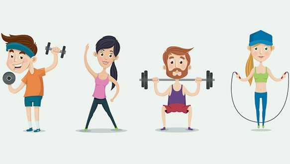 Image result for exercise animation